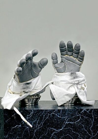 Vincent Fournier, 'Phase VI space gloves Used on the International Space Station, custom made for each astronaut. [ILC] Dover, U.S.A., 2017', 2017