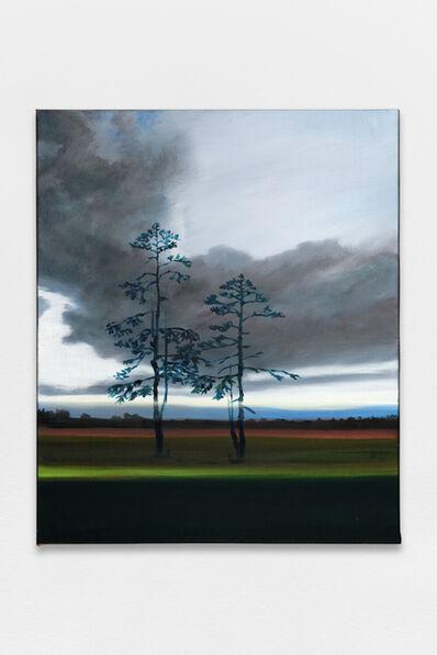 Olivier Masmonteil, 'White pine nightscape #2', 2020