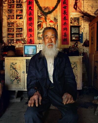 Jiang Jian 姜健, 'Zhao Xiushan, 76 year-old, Hechang Village, Guyang Township of Lankao County', 1997