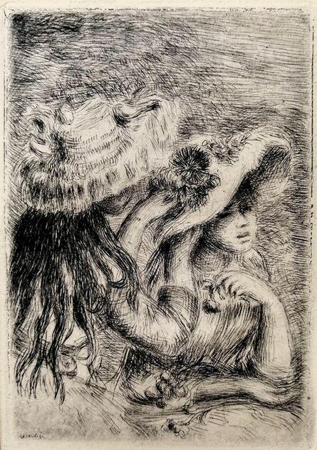 Pierre-Auguste Renoir, 'The Hat secured with a Pin - Le chapeau épinglé', ca. 1894