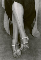 Dorothea Lange, 'Mended Stockings, San Francisco', 1934