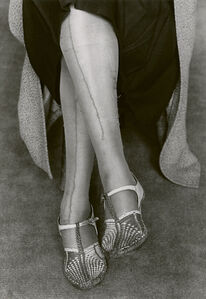 Dorothea Lange, 'Mended Stockings, San Francisco', 1934