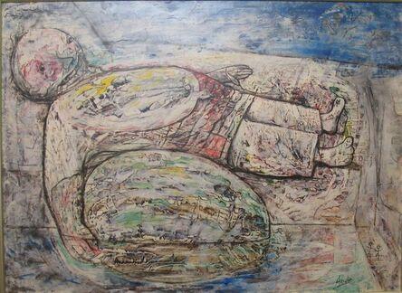 Eduardo Abela, 'Nino con Melon', 1955