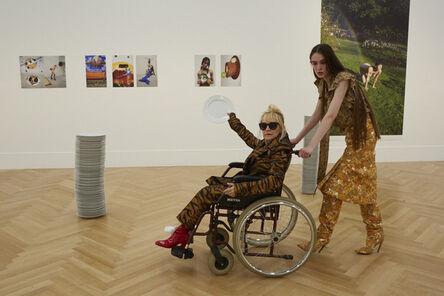 Juergen Teller, 'Installation view with Suzanne Tarasieve and Ia Wenedikter, No.11,Bundeskunsthalle Bonn', 2016