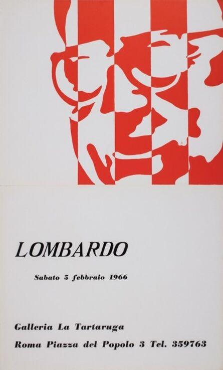Sergio Lombardo, 'Lombardo', 1966