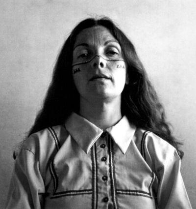 Graciela Iturbide, 'Autorretrato con los indios seris, Desierto de Sonora, Mexico', 1979
