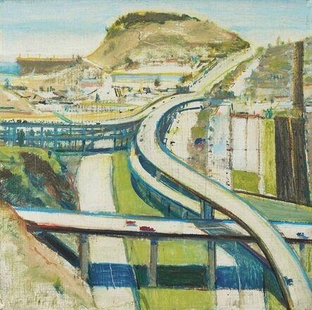 Wayne Thiebaud, 'Study for Freeway'