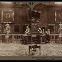 Bert Underwood, 'Wrestlers, Venus de Medici and Knife Grinder, Uffizi Palace, Florence', 1900