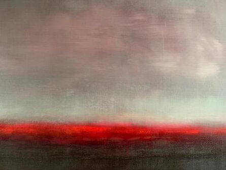 Paul Hughes, ''Red Shimmer', from 'Somewhere Between Two Worlds' series ', 2019