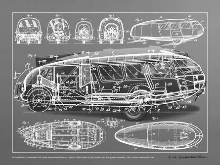R. Buckminster Fuller, 'Motor Vehicle- Dymaxion Car', 1981