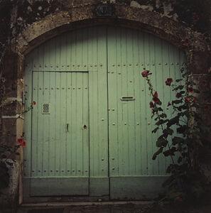 Hugh Martin, 'Turquoise Doors, Bourges', 2015