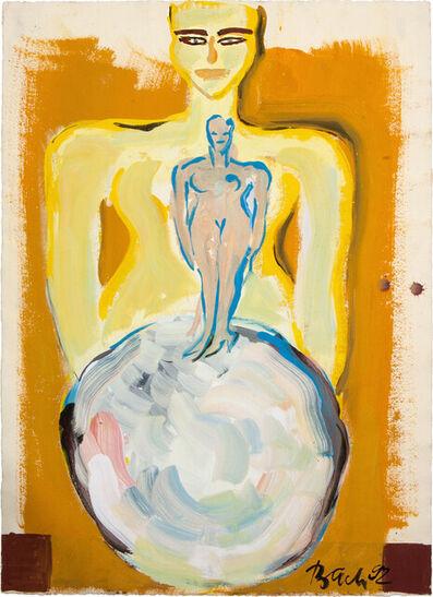 Elvira Bach, 'Schneeball', 1992