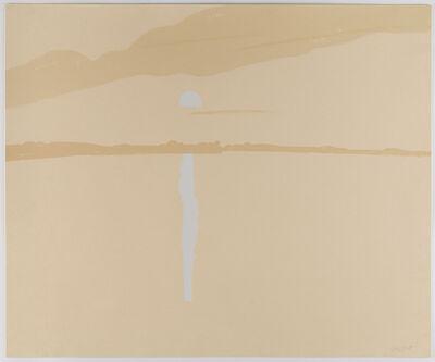 Alex Katz, 'Lake Wesserunsett IV', 1972