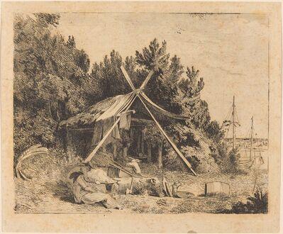 Thomas Stothard, 'The Camp of Stothard, Blake, Ogleby', ca. 1780