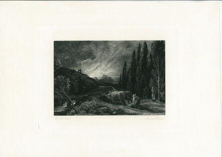 Samuel Palmer, 'The Early Ploughman', ca. 1861