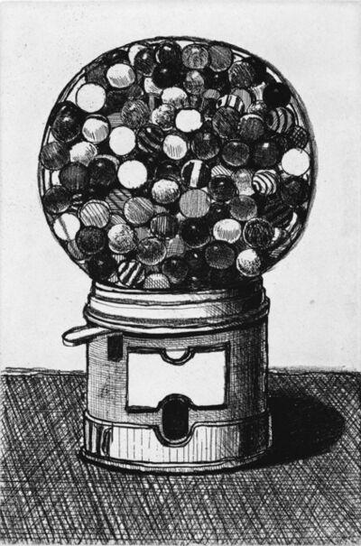 Wayne Thiebaud, 'Dark Gumball Machine', 2017
