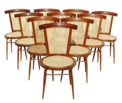 "Joaquim Tenreiro, 'Set of ten ""Small Chairs""', 1960"