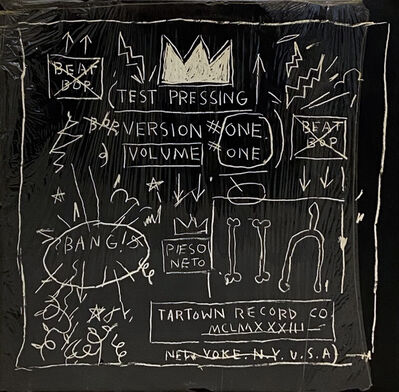 Jean-Michel Basquiat, 'Basquiat Beat Bop 1983 1st pressing (Original Basquiat Beat Bop)', 1983