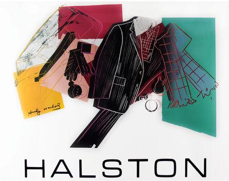 Andy Warhol, 'Halston Advertising Campaign - Men's Wear', 1982
