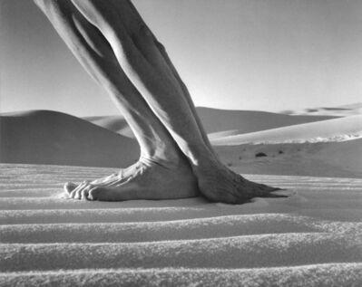 Arno Rafael Minkkinen, 'Self-portrait, White Sands, New Mexico', 2000