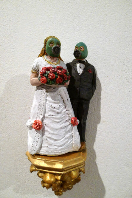 Isaac Cordal, 'Wedding Couple', 2011