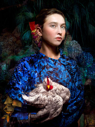 Cooper & Gorfer, 'Vanesa and the Chicken', 2017