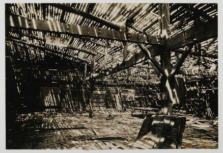 """Yoho Tsuda 津田 洋甫, 'From """"Shuen"""" (""""The End"""") – Building', 1959"""