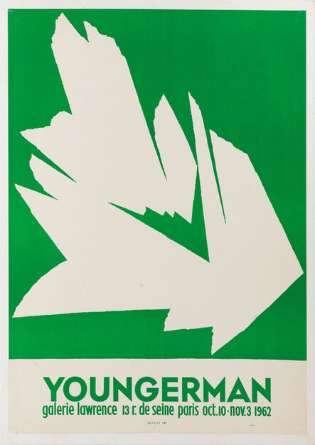"""Jack Youngerman, 'Galerie Lawrence, """"Youngerman"""" ', 1962"""