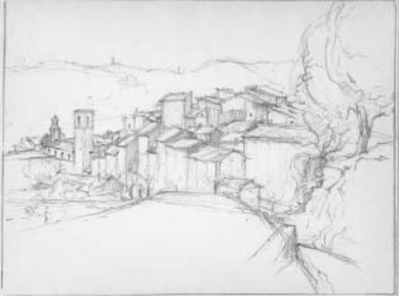Ernest David Roth, 'Rooftops'