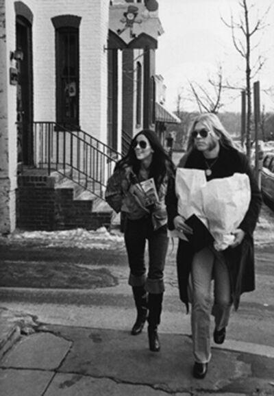 Ron Galella, 'Cher and Gregg Allman, Washington, DC', 1977