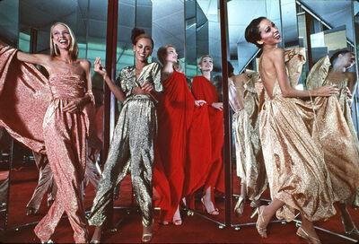 Harry Benson, 'Halston Four Models', 1978
