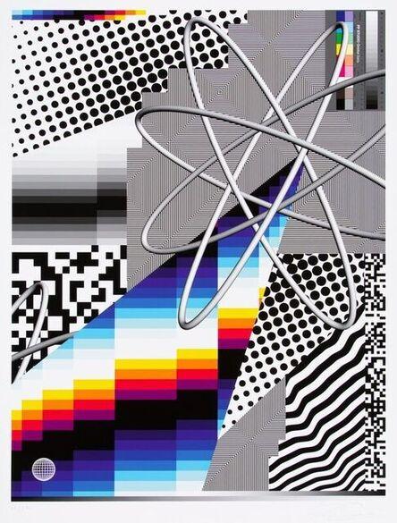 Felipe Pantone, 'OPTICHROMIE 122 ', 2020