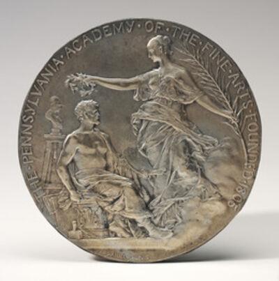 Jean-Baptiste Daniel-Dupuis, 'Medallion for the Pennsylvania Academy of the Fine Arts', probably 1893