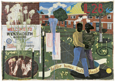 Kerry James Marshall, 'Better Homes, Better Gardens', 1994