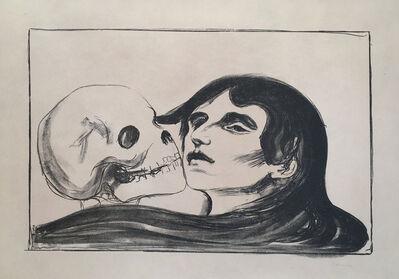 Edvard Munch, 'Todeskuss (The Kiss of Death)', 1899