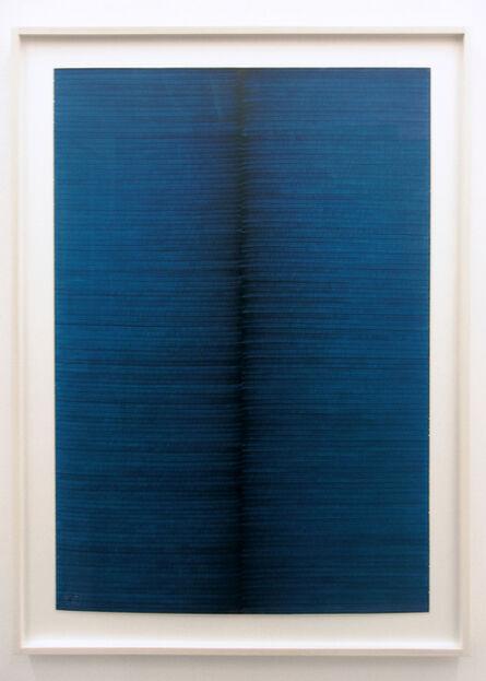 Irma Blank, 'Radical Writings, Exercitium, 26-4-88', 1988