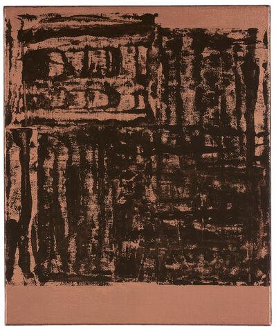 Helmut Federle, 'Für die Vögel Q', 2000