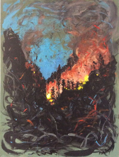 Phyllis Anderson, 'Grand County Wildfire (Lamentation)', 2018