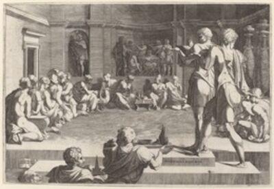 Domenico del Barbiere after Francesco Primaticcio, 'The Banquet of Alexander the Great', 1544/46