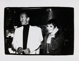 Andy Warhol, 'Andy Warhol, Photograph of Halston and Liza Minnelli, 1979', 1979