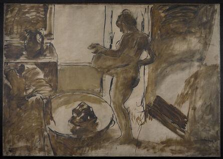 Edgar Degas, 'Nude Woman Drying Herself (Femme au Tub)', ca. 1884