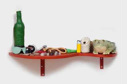 Andy Steinbrink, 'Slow Down Ruby (Frog with Slingshot Shelf)', 2014