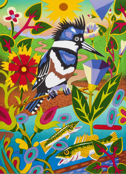 Billy Hassell, 'Kingfisher (By the River)', 2015