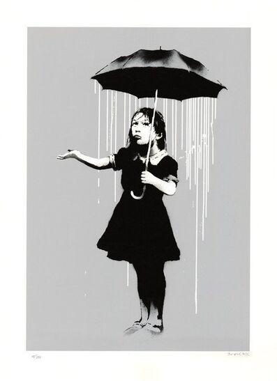 Banksy, 'Nola (White Rain), (Signed)', 2008