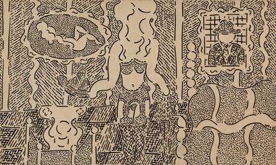 William Nelson Copley, 'Philosophie dans le boudoir', 1965