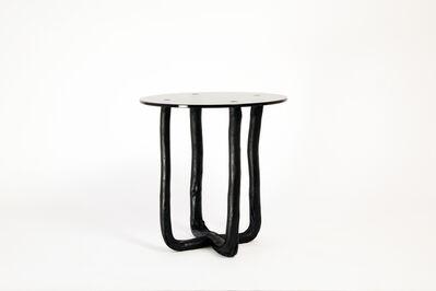 Johannes Hemann, 'Pressed Wood Black Side Table', 2014