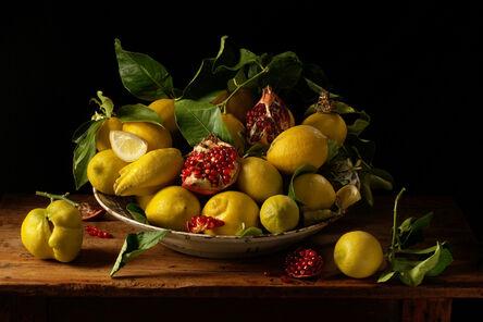 Paulette Tavormina, 'Lemon and Pomegranates, after J.v.H.', 2010