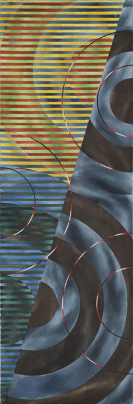 John Aslanidis, 'Crosscurrent / Alternation Fragment', 1994