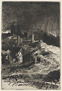 Victor, Hugo, 'Landscape', 1868