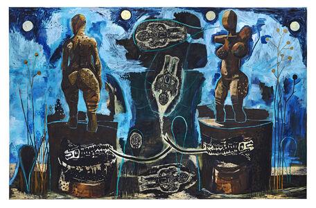Damien Deroubaix, 'Communication breakdown', 2019
